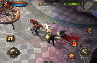 Descarga gratuita de Dungeon Hunter 4 para iPhone, iPad y iPod.