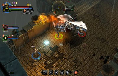 Screenshots do jogo Dungeon Hunter 4 para iPhone, iPad ou iPod.