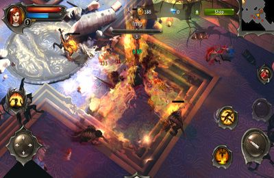 Screenshots of the Dungeon Hunter 4 game for iPhone, iPad or iPod.