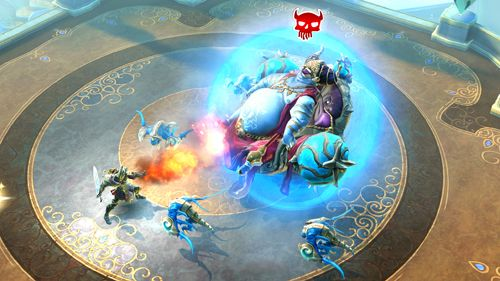 Descarga gratuita de Dungeon hunter 5 para iPhone, iPad y iPod.