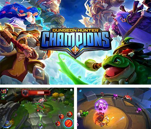 Download Dungeon hunter champions iPhone free game.