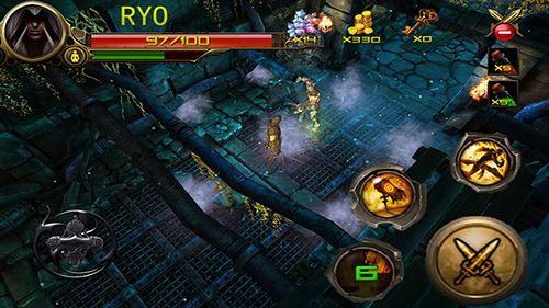 Screenshots vom Spiel Dungeon hunter: Ninja assassin für iPhone, iPad oder iPod.