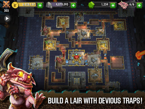 Download Dungeon Keeper iPhone free game.