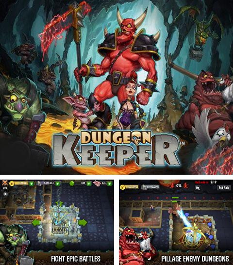 In addition to the game Snow leopard simulator for iPhone, iPad or iPod, you can also download Dungeon Keeper for free.