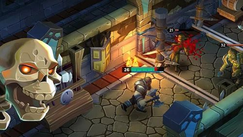 Screenshots vom Spiel Dungeon legends für iPhone, iPad oder iPod.