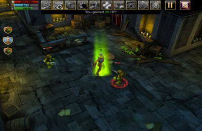 Screenshots of the Dungeon Lore game for iPhone, iPad or iPod.