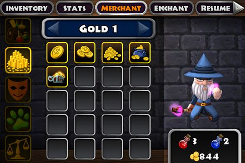 Descarga gratuita de Dungeon quest para iPhone, iPad y iPod.