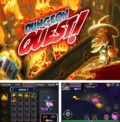 In addition to the game Skateboard Slam for iPhone, iPad or iPod, you can also download Dungeon quest for free.