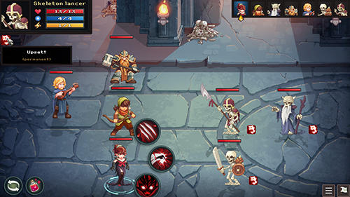 Screenshots of the Dungeon rushers game for iPhone, iPad or iPod.