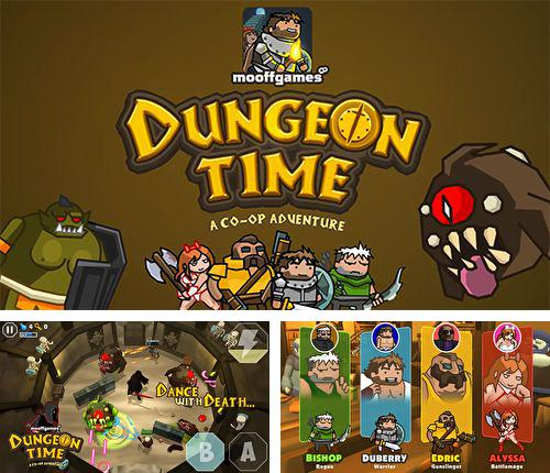 In addition to the game Iron Fist Boxing for iPhone, iPad or iPod, you can also download Dungeon time for free.