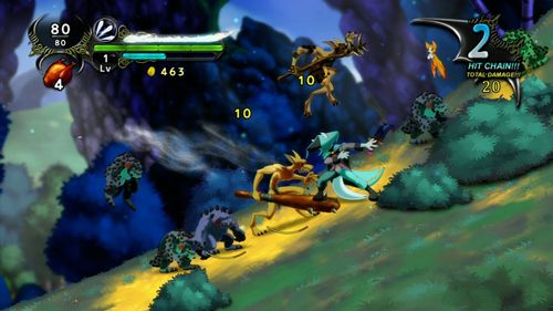 Screenshots of the Dust: An Elysian tail game for iPhone, iPad or iPod.
