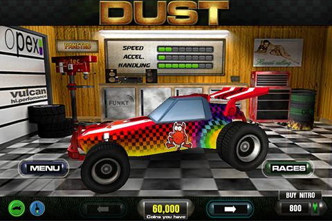 Download Dust offroad racing iPhone free game.