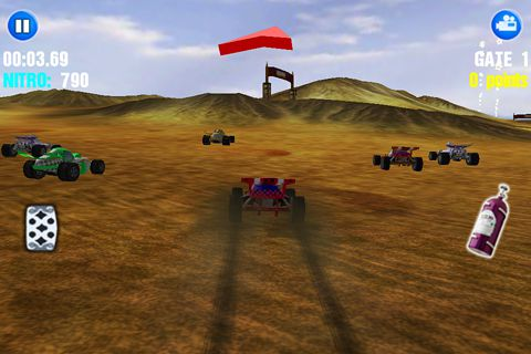 Free Dust offroad racing download for iPhone, iPad and iPod.
