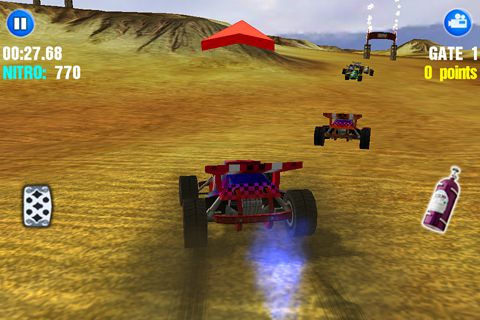 Capturas de pantalla del juego Dust offroad racing para iPhone, iPad o iPod.