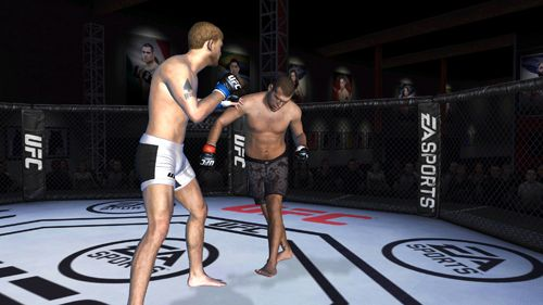 Screenshots do jogo EA sports: UFC para iPhone, iPad ou iPod.