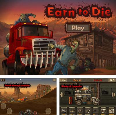 In addition to the game Nomasaurus Rex for iPhone, iPad or iPod, you can also download Earn to Die for free.