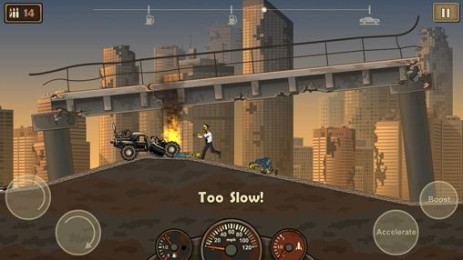 Screenshots do jogo Earn to die 2 para iPhone, iPad ou iPod.