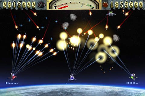 Capturas de pantalla del juego Earth vs. Moon para iPhone, iPad o iPod.