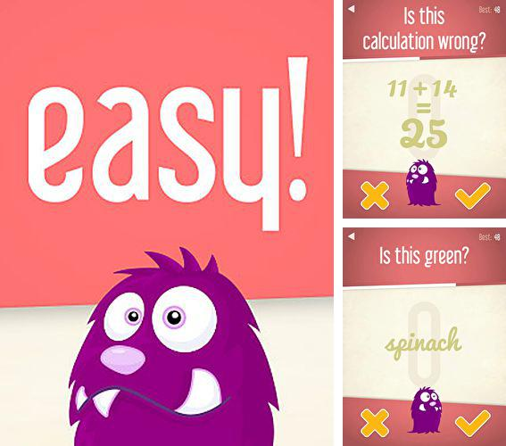 In addition to the game Power hover for iPhone, iPad or iPod, you can also download Easy! A deluxe brainteaser for free.