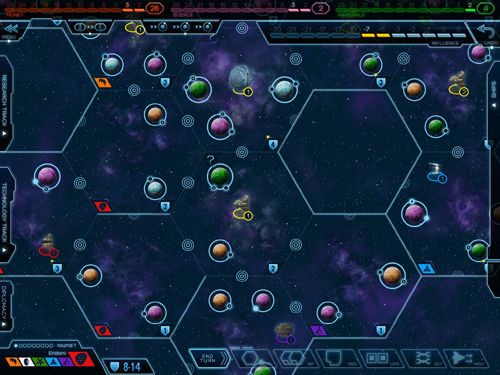 Capturas de pantalla del juego Eclipse: New dawn for the galaxy para iPhone, iPad o iPod.