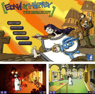 In addition to the game Delta-V Racing for iPhone, iPad or iPod, you can also download Edna & Harvey: The Breakout for free.