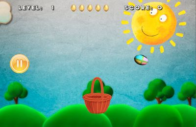 Capturas de pantalla del juego Eggz Saver para iPhone, iPad o iPod.