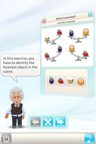 Free Einstein: Brain trainer download for iPhone, iPad and iPod.
