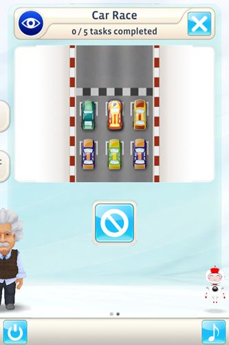 Screenshots of the Einstein: Brain trainer game for iPhone, iPad or iPod.