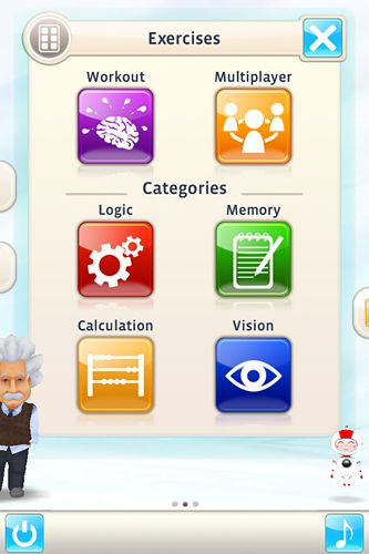 Геймплей Einstein: Brain trainer для Айпад.