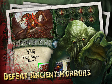 Descarga gratuita de Elder Sign: Omens para iPhone, iPad y iPod.