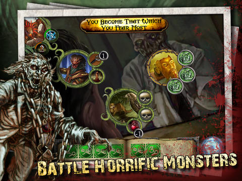 Capturas de pantalla del juego Elder Sign: Omens para iPhone, iPad o iPod.