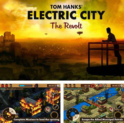 In addition to the game Around the World in 80 Days – Extended Edition for iPhone, iPad or iPod, you can also download ELECTRIC CITY: The Revolt for free.