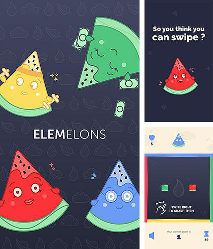 In addition to the game Tungoo for iPhone, iPad or iPod, you can also download Elemelons for free.