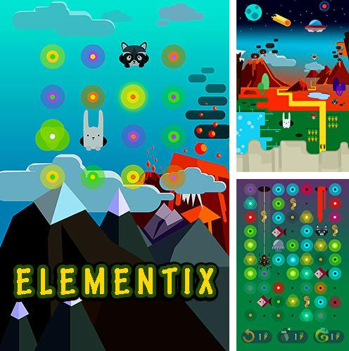 In addition to the game Vector for iPhone, iPad or iPod, you can also download Elementix for free.
