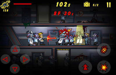 Descarga gratuita de Elevator Zombies para iPhone, iPad y iPod.
