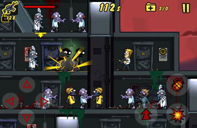 Capturas de pantalla del juego Elevator Zombies para iPhone, iPad o iPod.