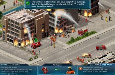 Screenshots of the EMERGENCY game for iPhone, iPad or iPod.