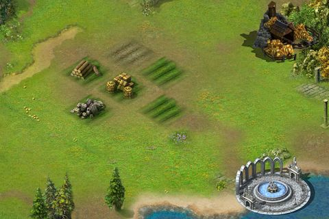 Capturas de pantalla del juego Empire: Battle heroes para iPhone, iPad o iPod.