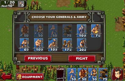 Download Empire Defense 2 iPhone free game.