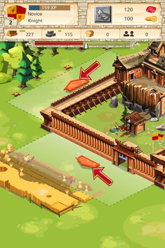 Screenshots of the Empire: Four Kingdoms game for iPhone, iPad or iPod.