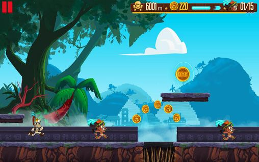 Écrans du jeu Empire run pour iPhone, iPad ou iPod.