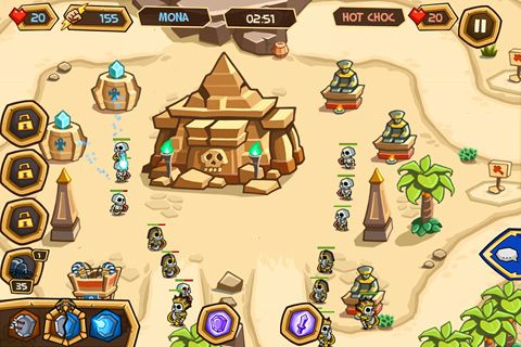 Descarga gratuita de Empires of sand para iPhone, iPad y iPod.