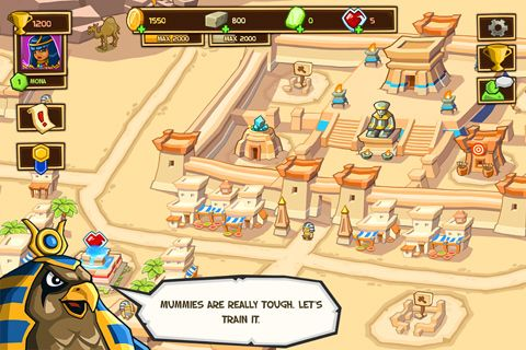 Capturas de pantalla del juego Empires of sand para iPhone, iPad o iPod.