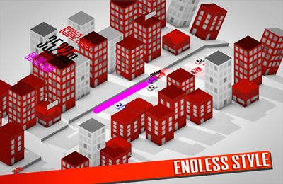 Descarga gratuita de Endless Road para iPhone, iPad y iPod.