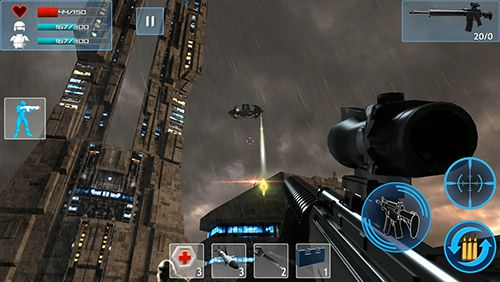 Écrans du jeu Enemy strike 2 pour iPhone, iPad ou iPod.