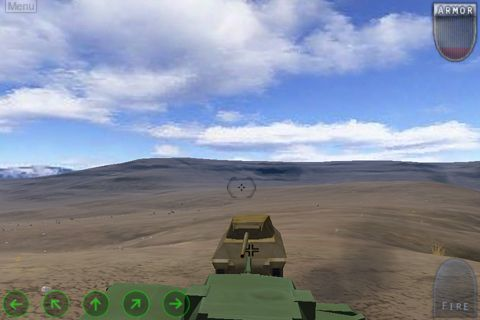 Descarga gratuita de Enemy war: Forgotten tanks para iPhone, iPad y iPod.