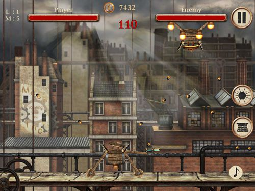 Screenshots vom Spiel Engines of vengeance für iPhone, iPad oder iPod.