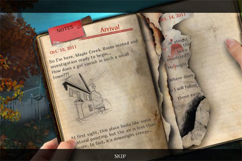 Kostenloser Download von Enigmatis: The ghosts of Maple Creek für iPhone, iPad und iPod.