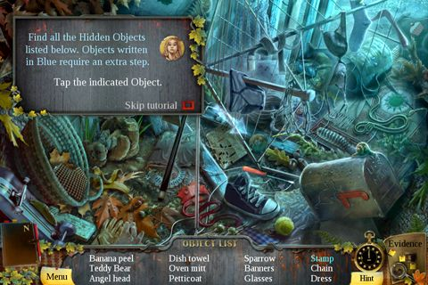 Écrans du jeu Enigmatis: The ghosts of Maple Creek pour iPhone, iPad ou iPod.