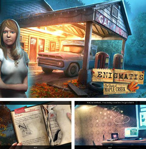 In addition to the game Hyper trip for iPhone, iPad or iPod, you can also download Enigmatis: The ghosts of Maple Creek for free.